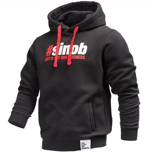 new styles 99c2b a4294 Hoodie #sinob schwarz